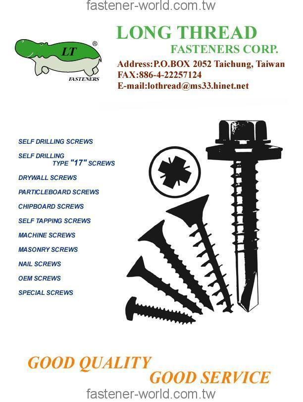 LONG THREAD FASTENERS CORP. _Online Catalogues