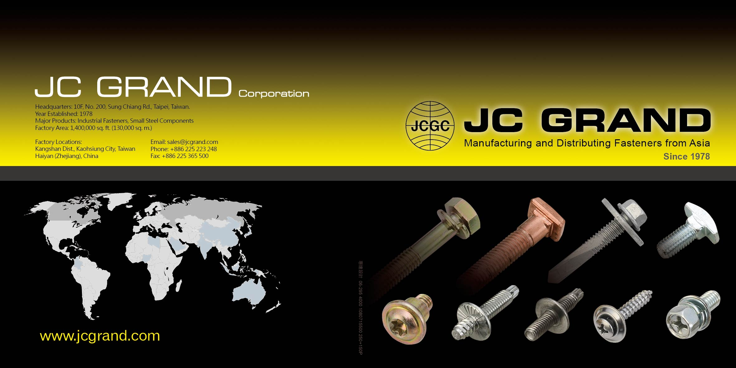 J.C. GRAND CORPORATION (JC) Online Catalogues