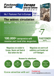 Fastener World Europe Special Edition April 2021 Issue