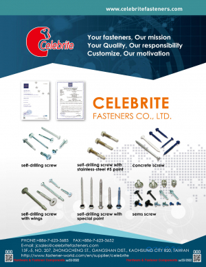Self-Tapping Screws, Self-Drilling Screws, Concrete Screws, Sems Screws