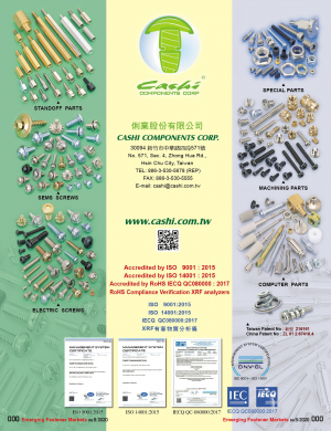 Clinching Parts, Special Parts, Electric Screws, Sems Screws, Computer Parts, Standoff Parts, Machining Parts