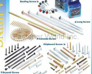 Roofing Screw / Long Screw / Collated Screw(HWA HSING SCREW INDUSTRY CO., LTD. )