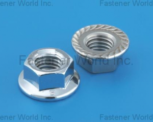 Hex. Flange Nuts With , Without Serration(L & W FASTENERS COMPANY)