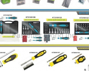 Screwdrivers(DAR YU ENTERPRISE CO., LTD. )