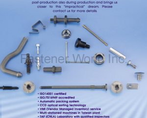 Automotive Fastener(EASYLINK INDUSTRIAL CO., LTD.)
