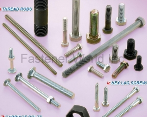 Hex Cap Screws, Thread Rods, Hex Lag Screws, Carriage Bolts, Hex Nuts(BESTWELL INTERNATIONAL CORP. )
