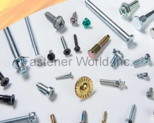 Machine Screws, Rivets, Self-clinching Fasteners, Sems, Tapping Screws, Torx Screws, Carriage Bolts, Projection Weld Studs, Weld Screws, Special Screws(FU KAI FASTENER ENTERPRISE CO., LTD.)