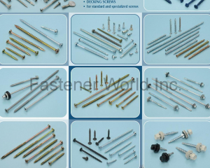 Self-Drilling Screw, Self-Tapping Screw, Construction Screw, Roofing Screw, Drywall Screw, Thread Cutting Screw, Decking Screw(WATTSON FASTENER GROUP INC. )