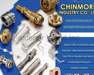 CNC Automatic Lathe, Precision Mechanical Machining(CHINMORE INDUSTRY CO., LTD.)