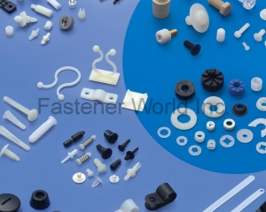 Plastic Screw, Nut, Washer, Screw Cover, Snap Rivet, Mounting Button, Clip, Spacer Support, Wire Mount, Cable Clip(PINGOOD ENTERPRISE CO., LTD.)