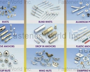 Wood Screw, Roofing Screw, Painting Screw, Furniture Screw, Back Panel Screw, Sems Screw, Special Screw, Thumb Screw, Wheel Bolts & Nuts(MASTER UNITED CORP. )