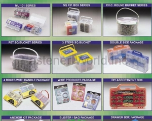 Package for Fasteners(MASTER UNITED CORP. )