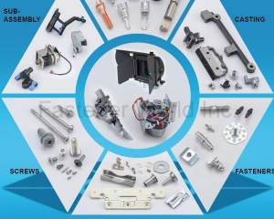 Sub-Assembly, Turning, Casting, Screws, Sheet Metal Stamping, Fasteners(BUDSTECH CO., LTD.)