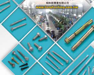 Hex Washer Head Screws, Indent Hex Head Screws, Self Tapping Screws, Self Drilling Screws(TONG HO SHING INTERNATIONAL CO., LTD.)
