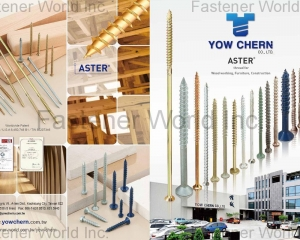 ASTER, Thread for Wood working, Furniture, Construction(YOW CHERN CO., LTD. )