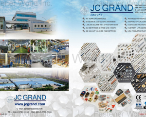 All Kinds of Screws(J.C. GRAND CORPORATION (JC))
