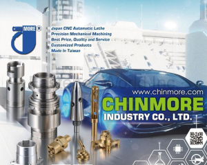 Japan CNC Automatic Lathe, Precision Mechanical Machining, Made in Taiwan(CHINMORE INDUSTRY CO., LTD.)