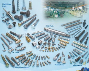 T.U.J BOLT / Multi-Stage Parts / CNC Parts(HSIN YU SCREW ENTERPRISE CO., LTD. (PETUAL) )