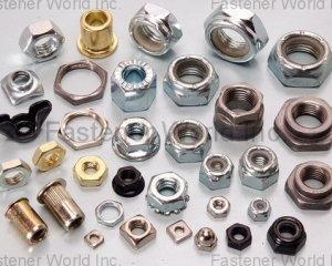 ALL KINDS OF NUTS, FASTENERS(HWAGUO INDUSTRIAL FASTENERS CO., LTD.)