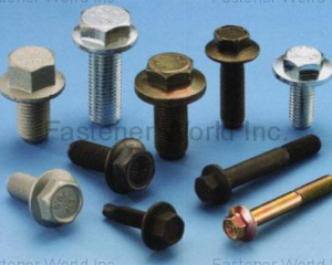 Hex Flange Bolts(CHAN HSIUNG FACTORY CO., LTD. )