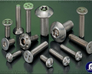 Security Screw(RODEX FASTENERS CORP.)